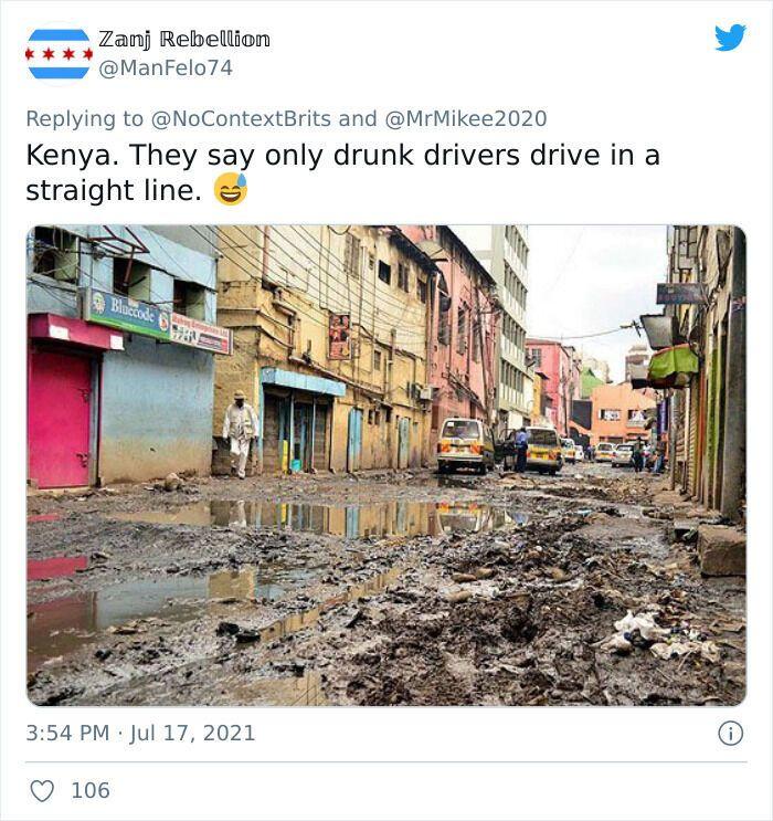 У Кенії дороги нагадують сміттєзвалище