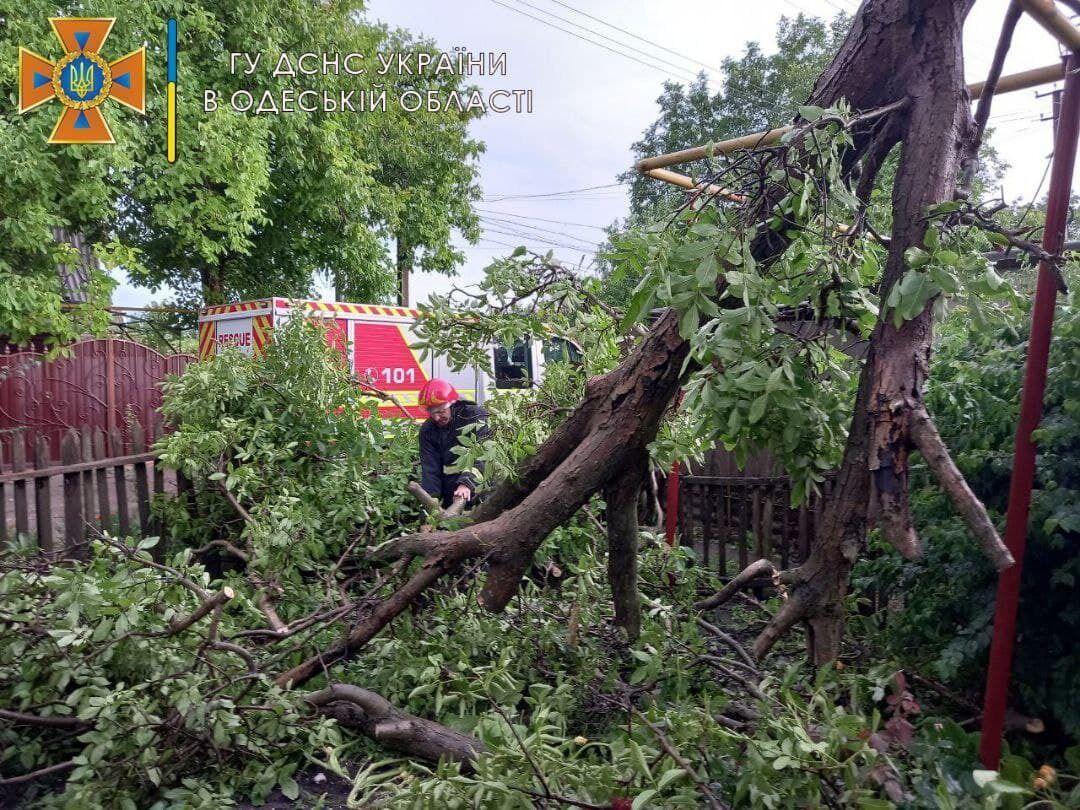 Последствия непогоды в Подольском районе Одесской области