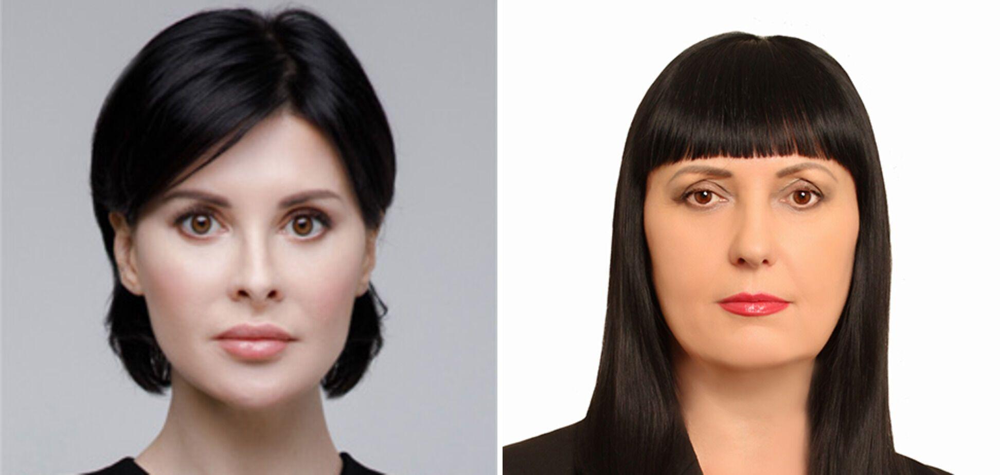 Заступниці Товмасяна Валерія Мураєва (зліва) і Тетяна Біловол (праворуч).