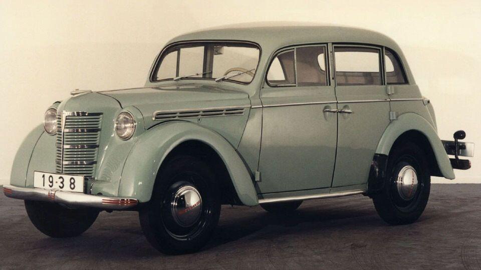 """Opel Kadett K38 """"пришлось переехать"""" в СССР"""