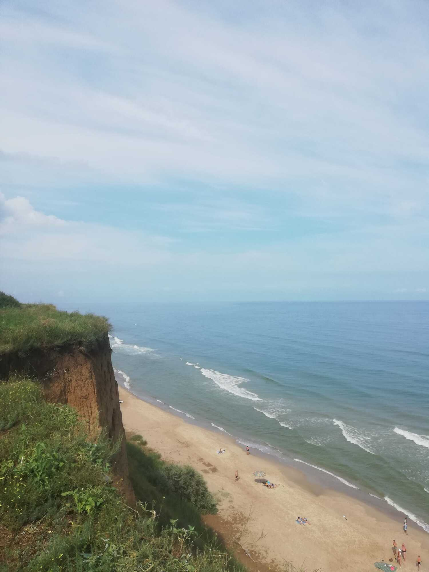Море очень чистое