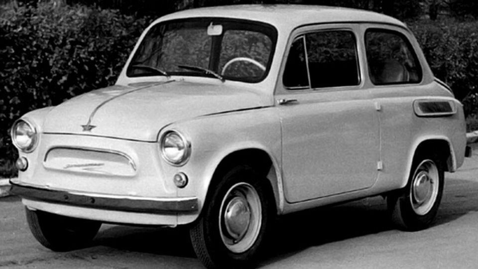 ЗАЗ-965 скопировал дизайн Fiat 600
