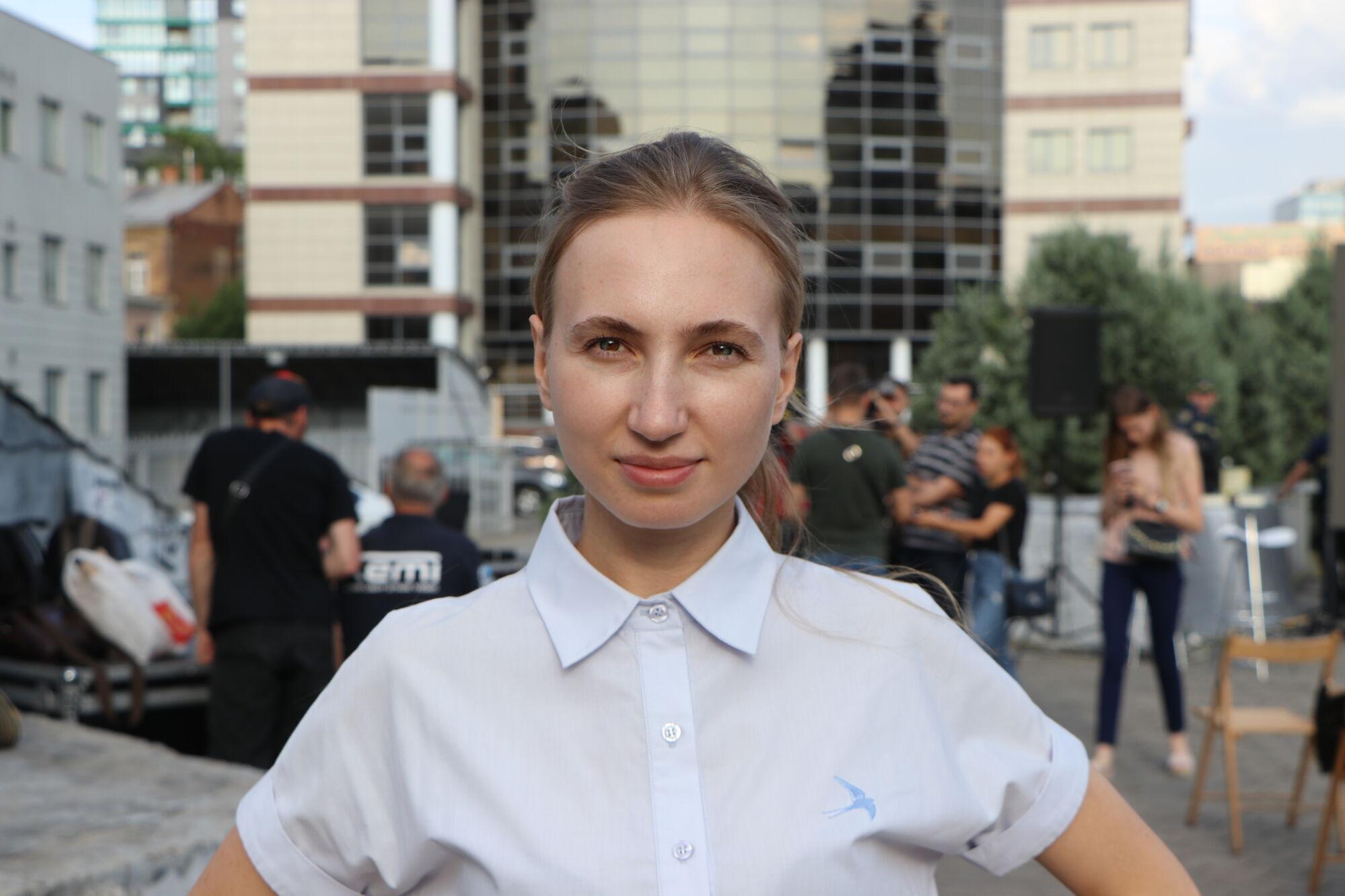Директорка департаменту молодіжної політики та національно-патріотичного виховання Дніпровської міської ради Дар'я Біла