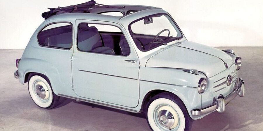 Fiat 600 – популярный итальянский автомобиль