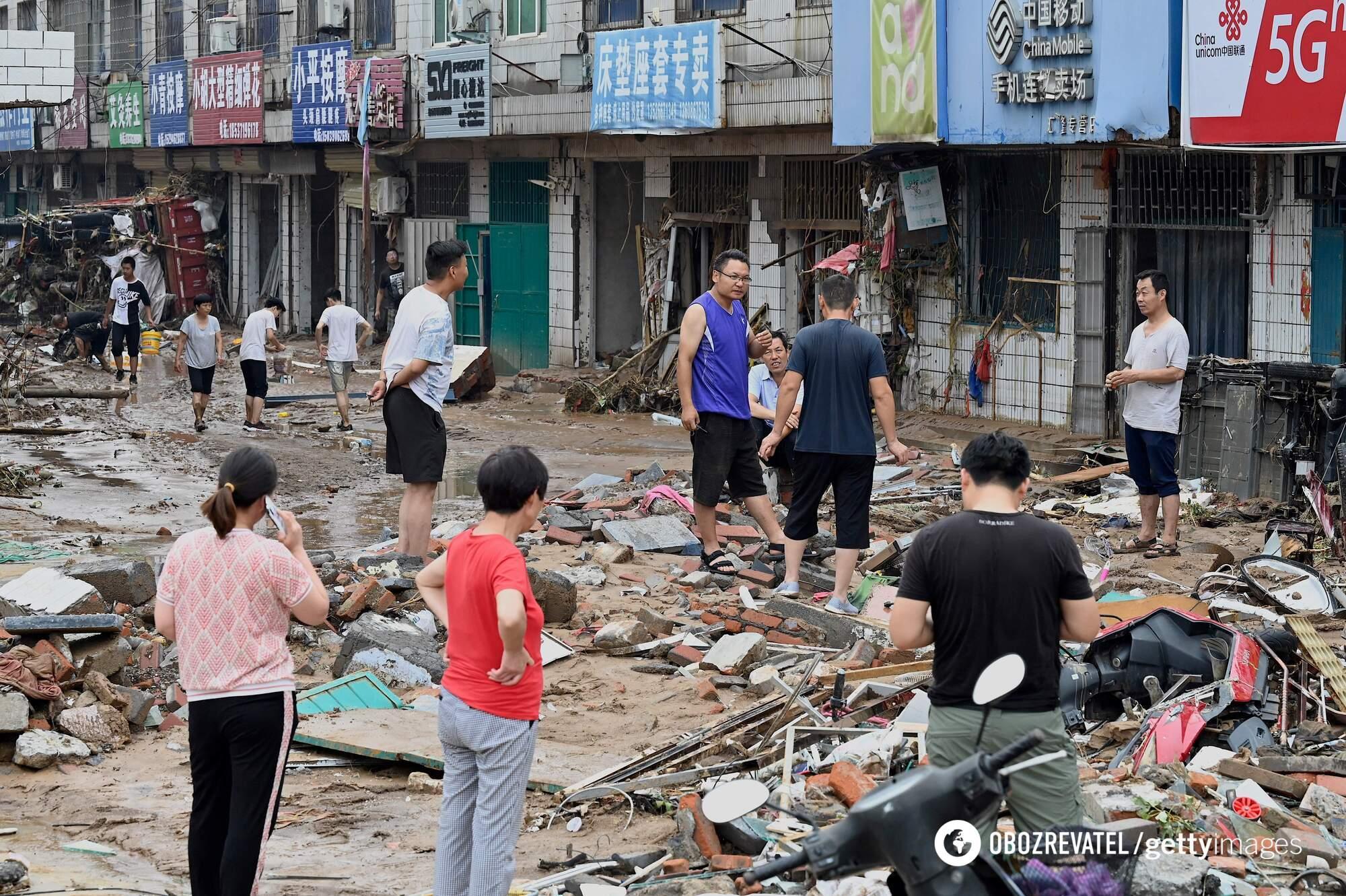 Наслідки потопу в Китаї