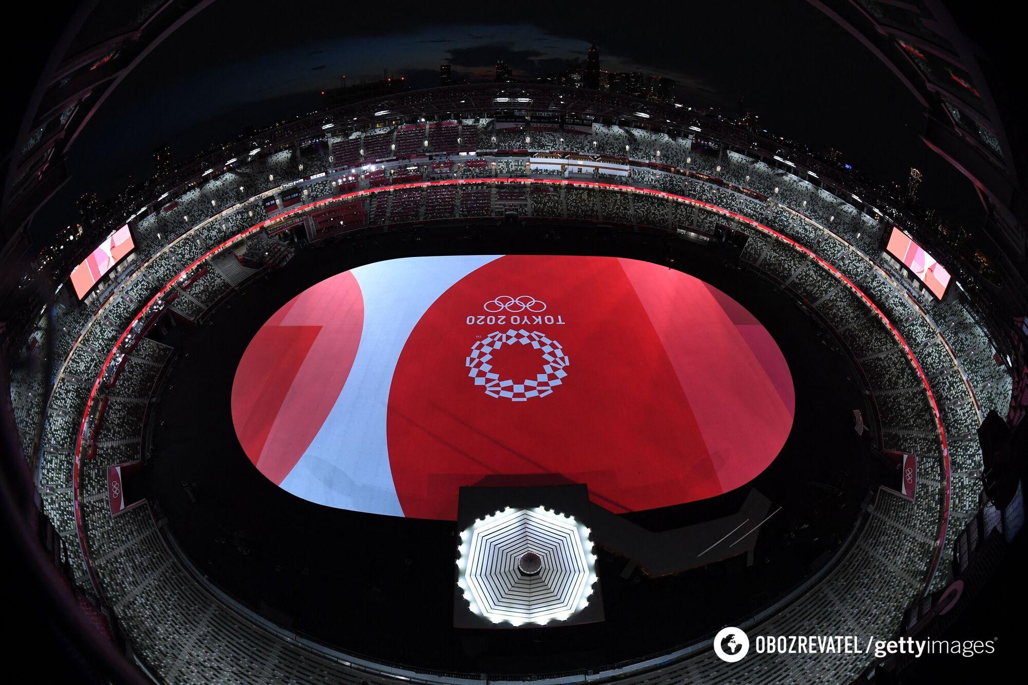 Відкриття Олімпіади в Токіо.