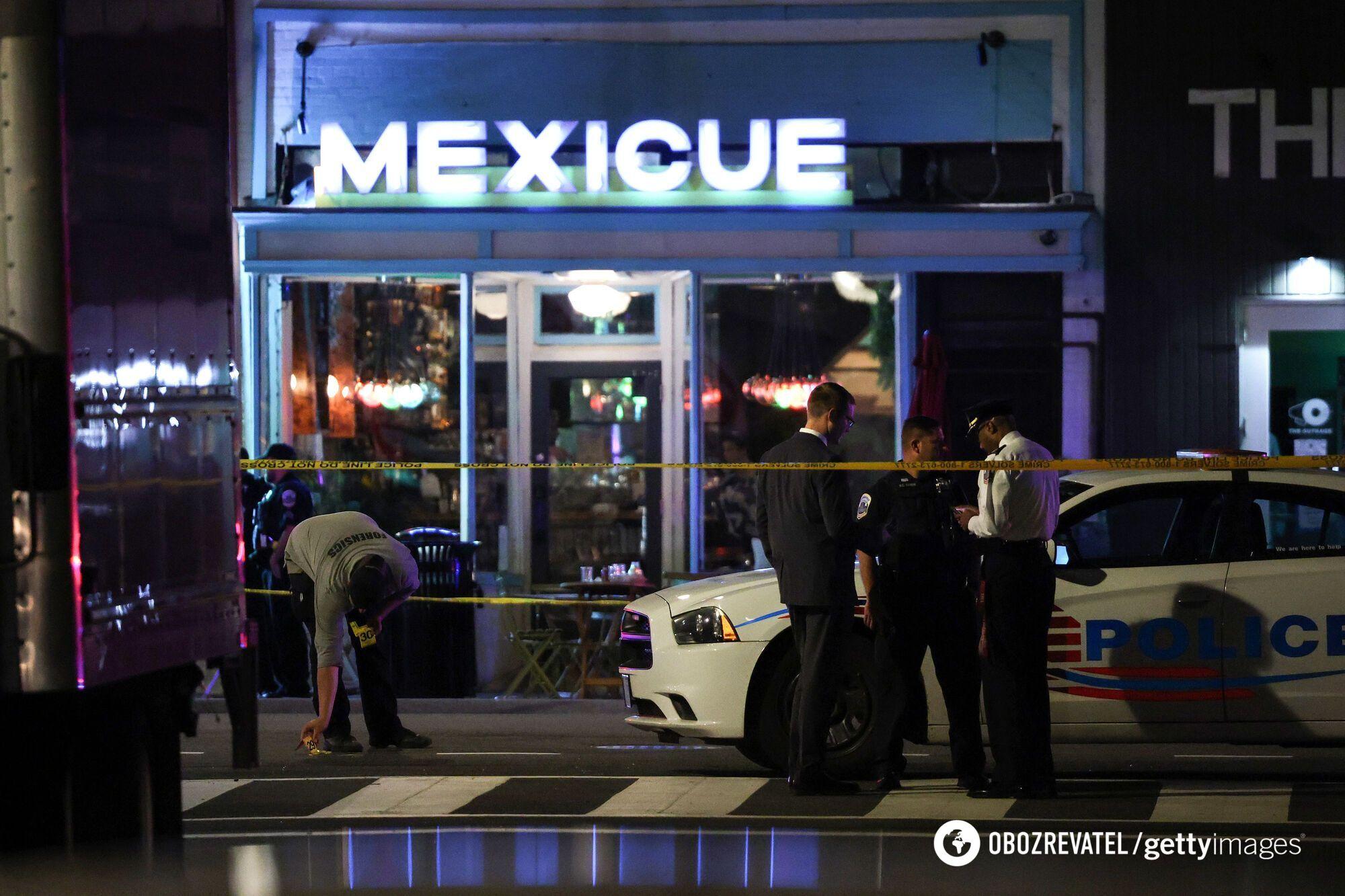 Стрілянина біля ресторану у Вашингтоні