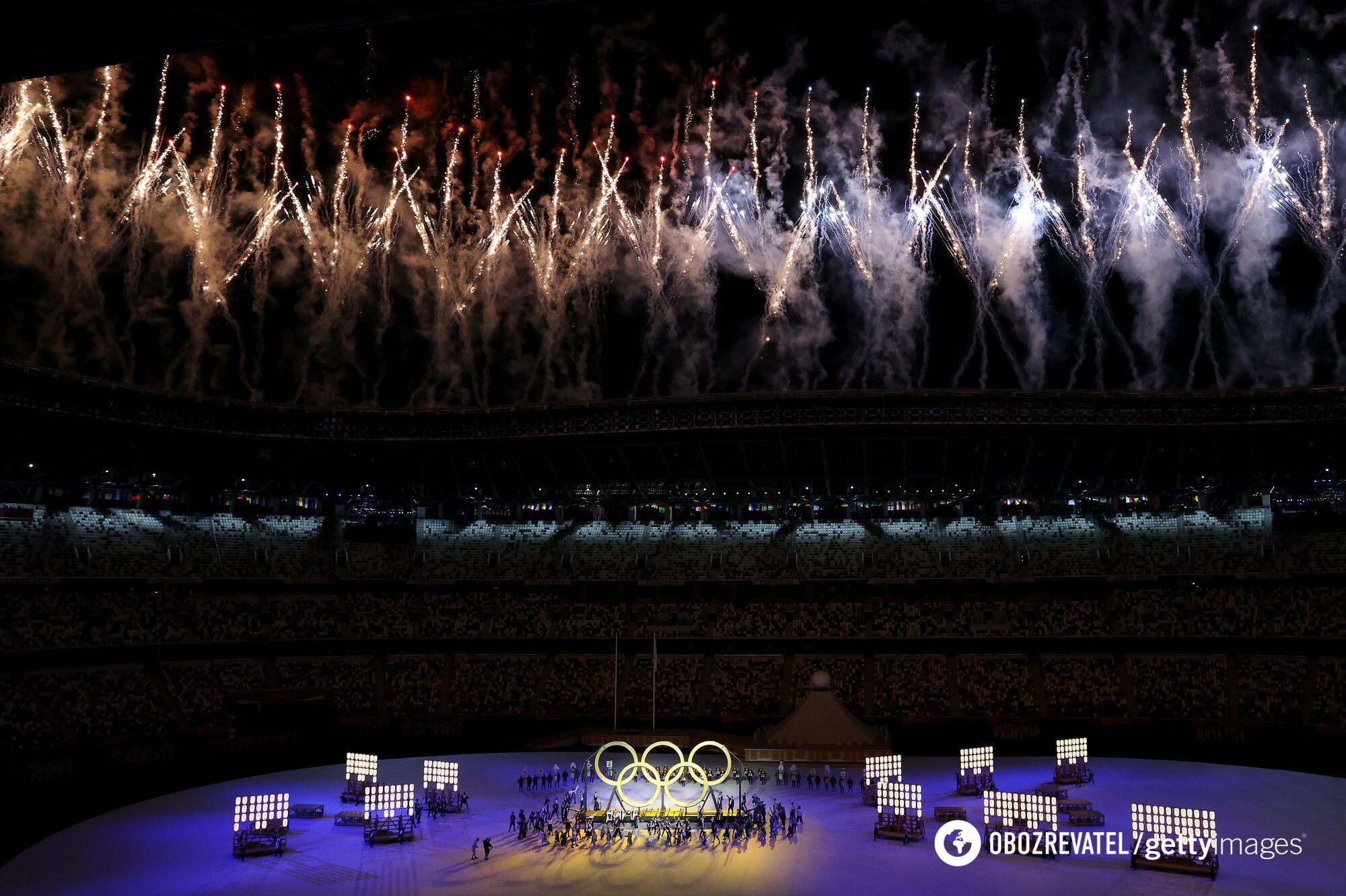 Ігри в Токіо офіційно відкрилися.