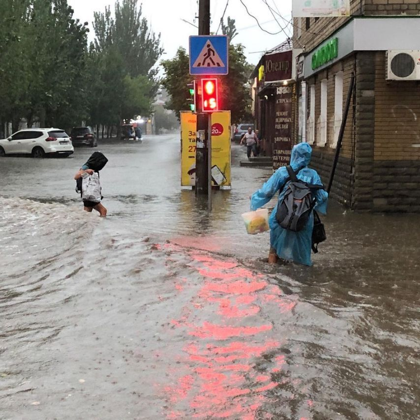 Затоплений Бердянськ