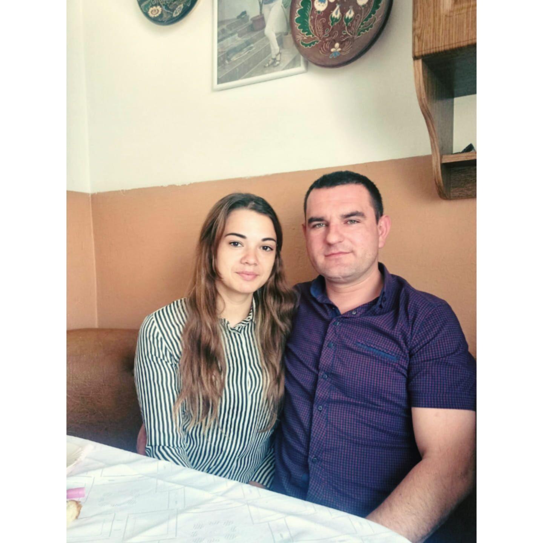 Карина з чоловіком Ярославом