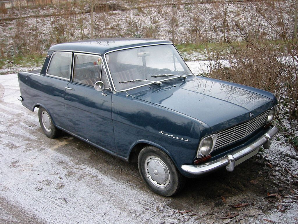 "Opel Kadett А – еще одна жертва ""Москвича"""