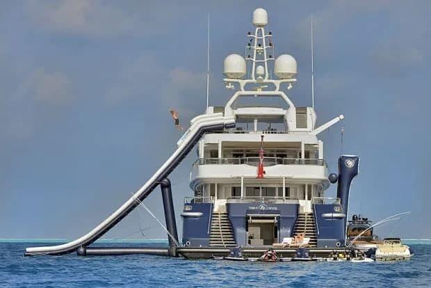 Яхта Тома Круза