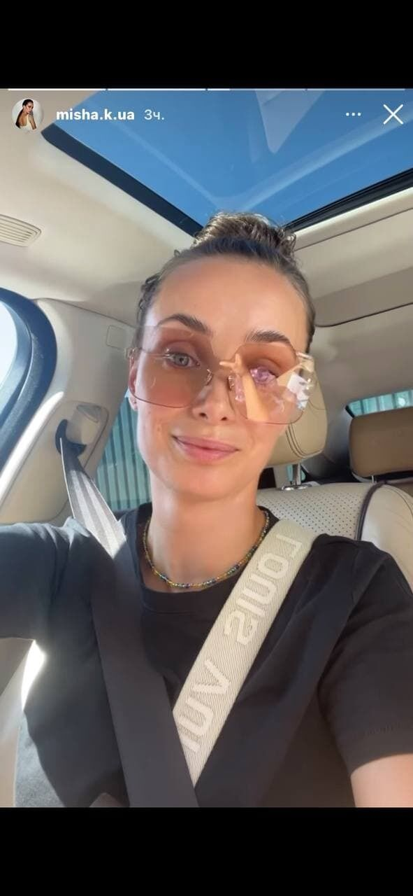 Ксения Мишина заговорила на украинском языке