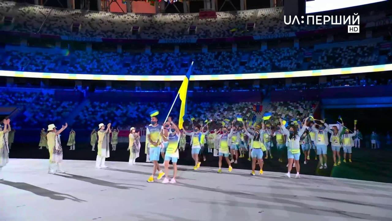 """Трансляцию """"Первого канала"""" прерывали на выход украинских олимпийцев"""