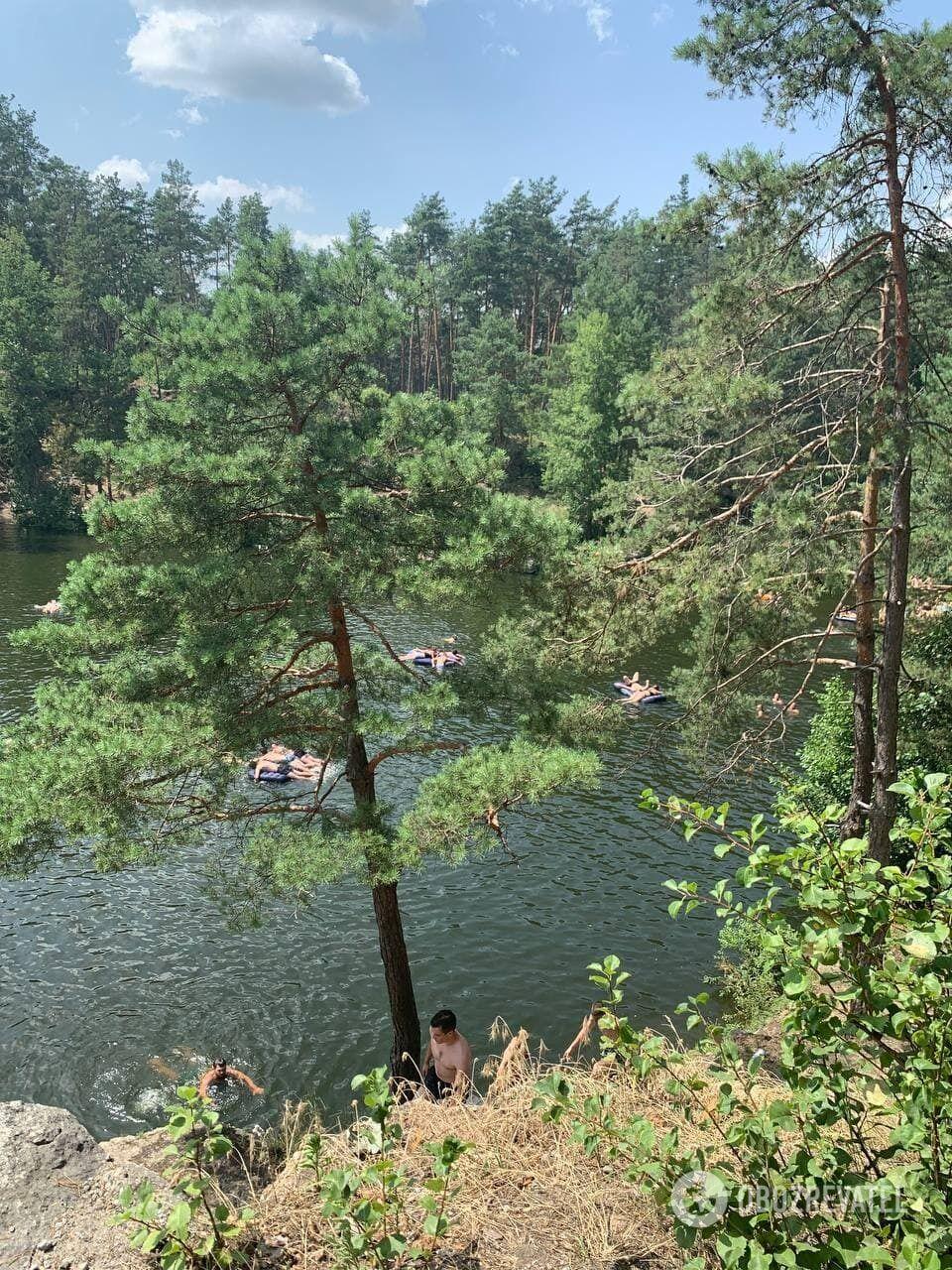 Каньйон у Коростишеві.