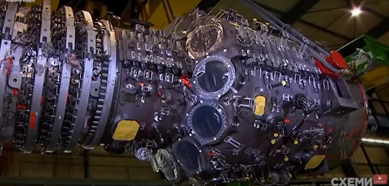 Турбины Siemens.