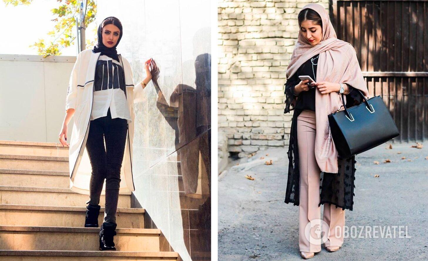 В Ірані жінка повинна перебувати на вулиці в довгих штанах або лосинах