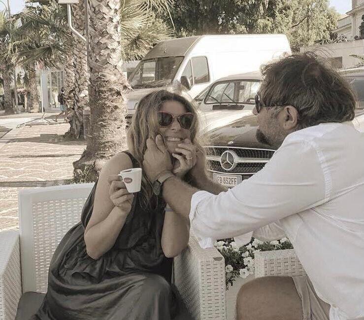 Жанна Бадоева с мужем.