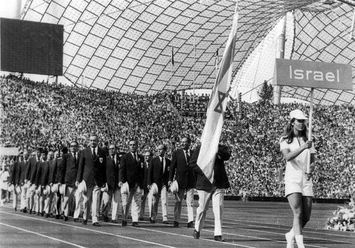 Израиль на открытии Олимпийских Игр в Мюнхене, 1972 год