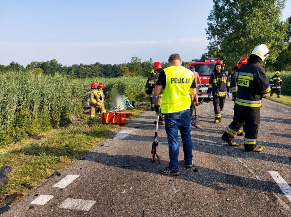 Аварія з українцями в Польщі.