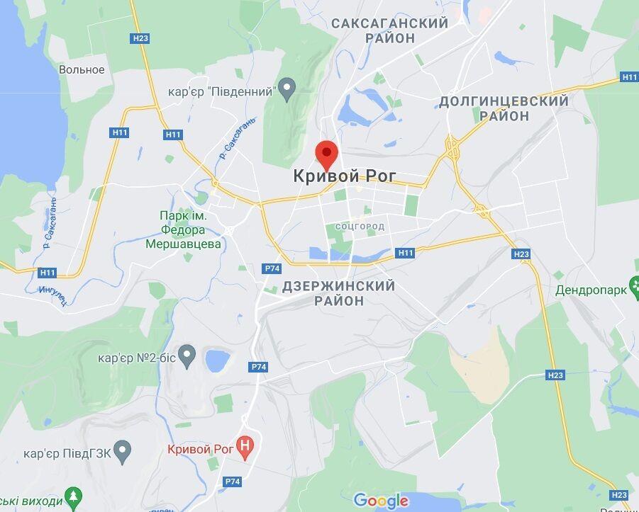 Инцидент произошел на улице Железной.