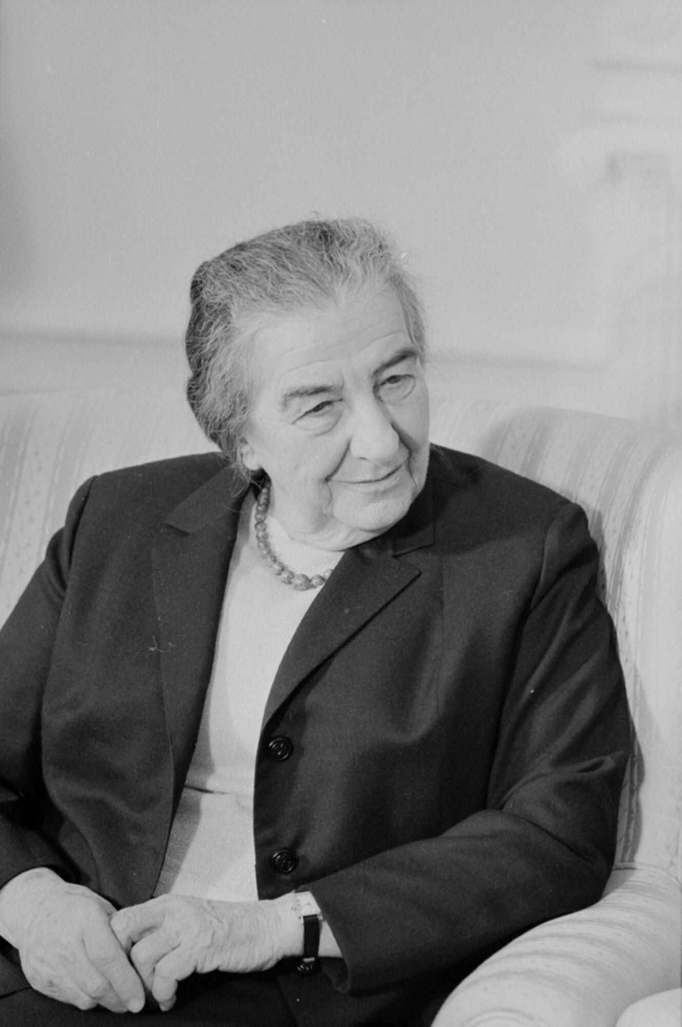 Прем'єр-міністр Ізраїлю Голда Меїр