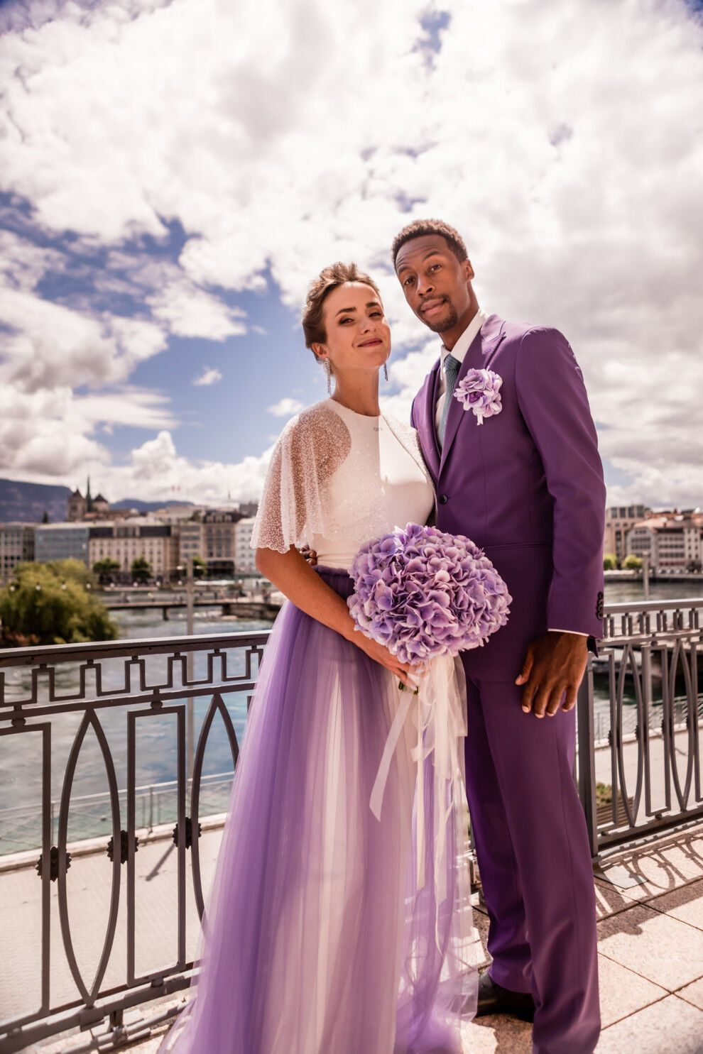 Світоліна вийшла заміж за Монфіса