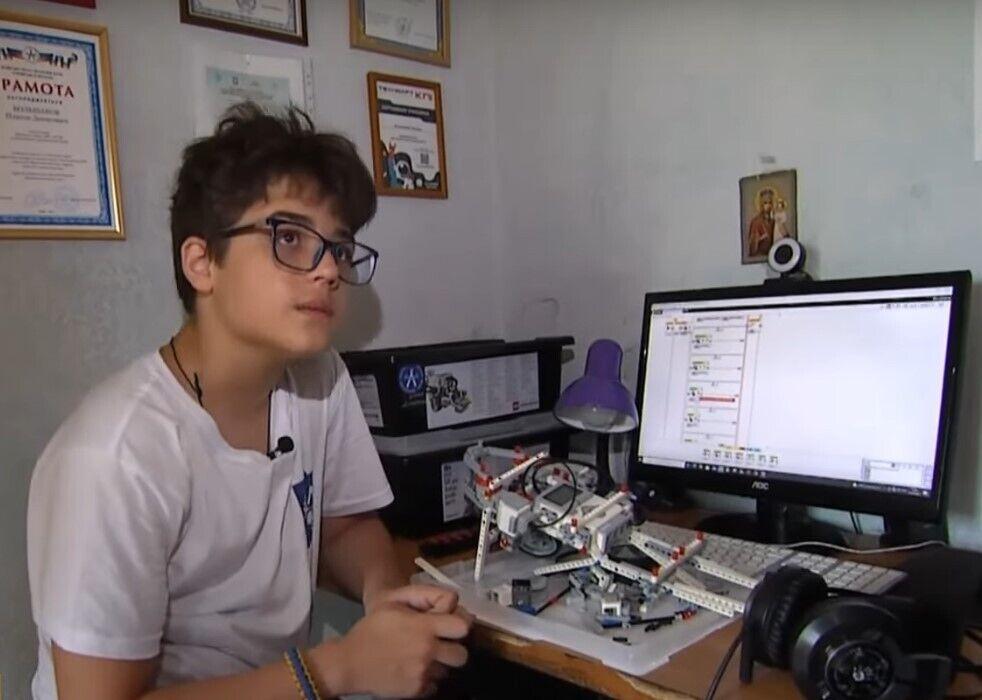 13-летний Платон Большаков получил золотую медаль на международной олимпиаде изобретателей