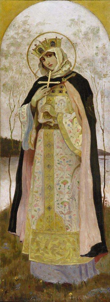 Княгиня Ольга була дружиною київського князя Ігоря
