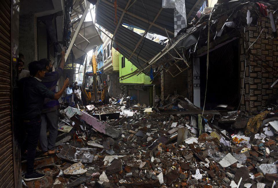 Из-за потопа в Индии погибли 125 человек.