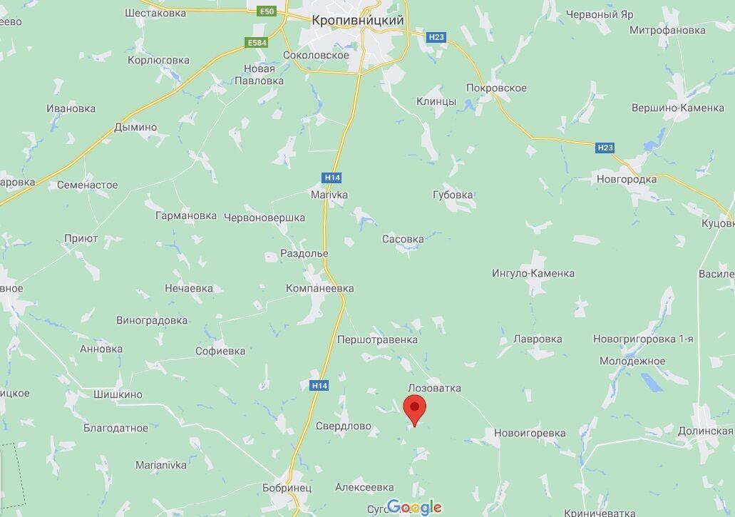 Інцидент стався в селі Коротяк.