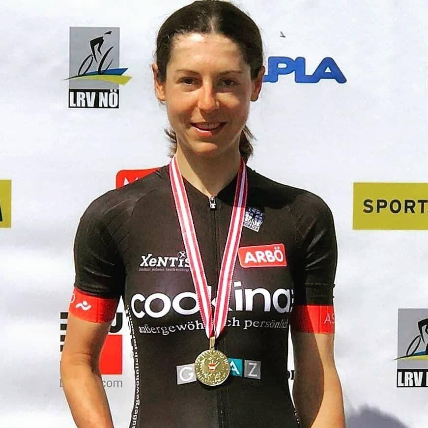 Анна Кізенгофер після перемоги