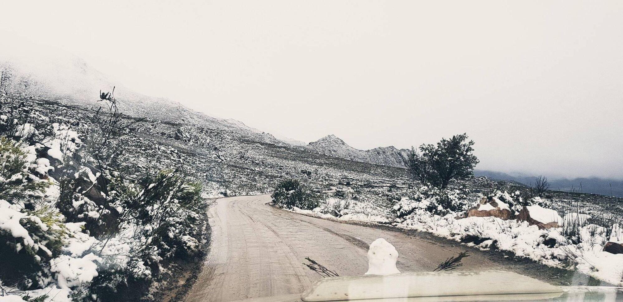 У Південній Африці різко похолодало.
