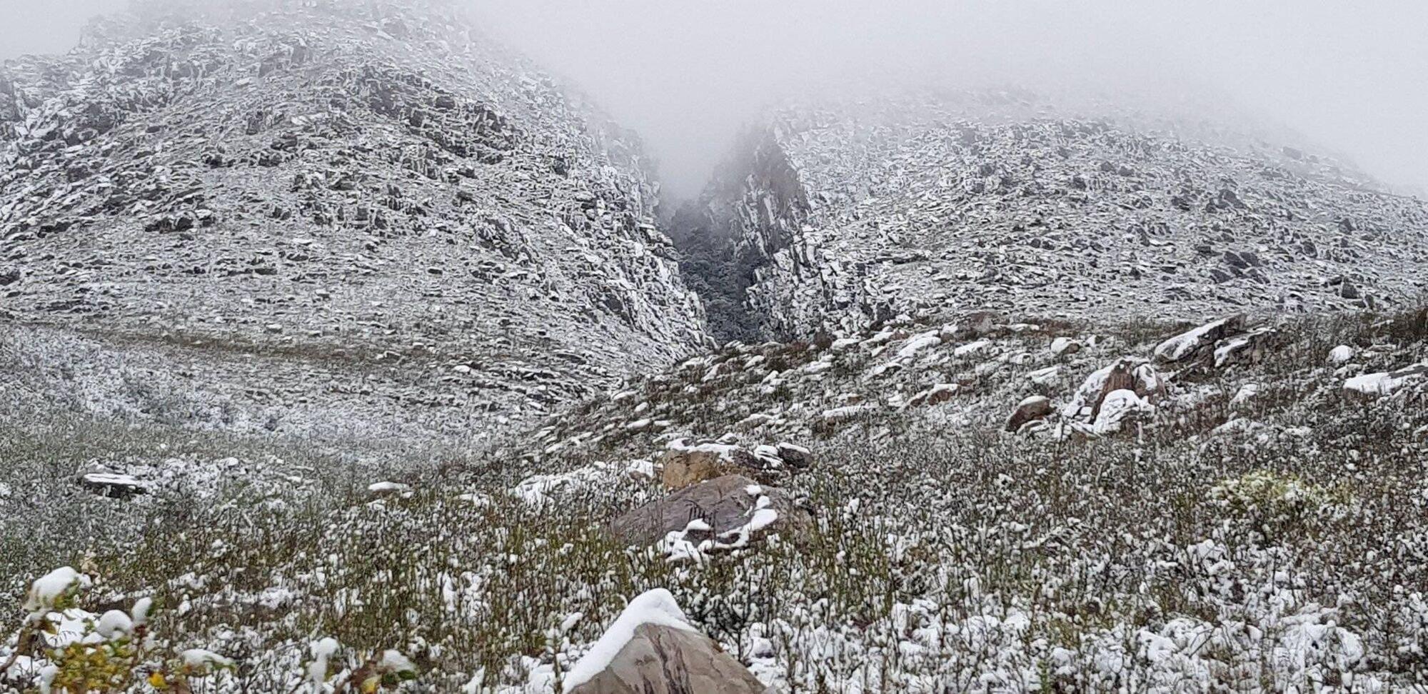 Снігопади в ПАР.