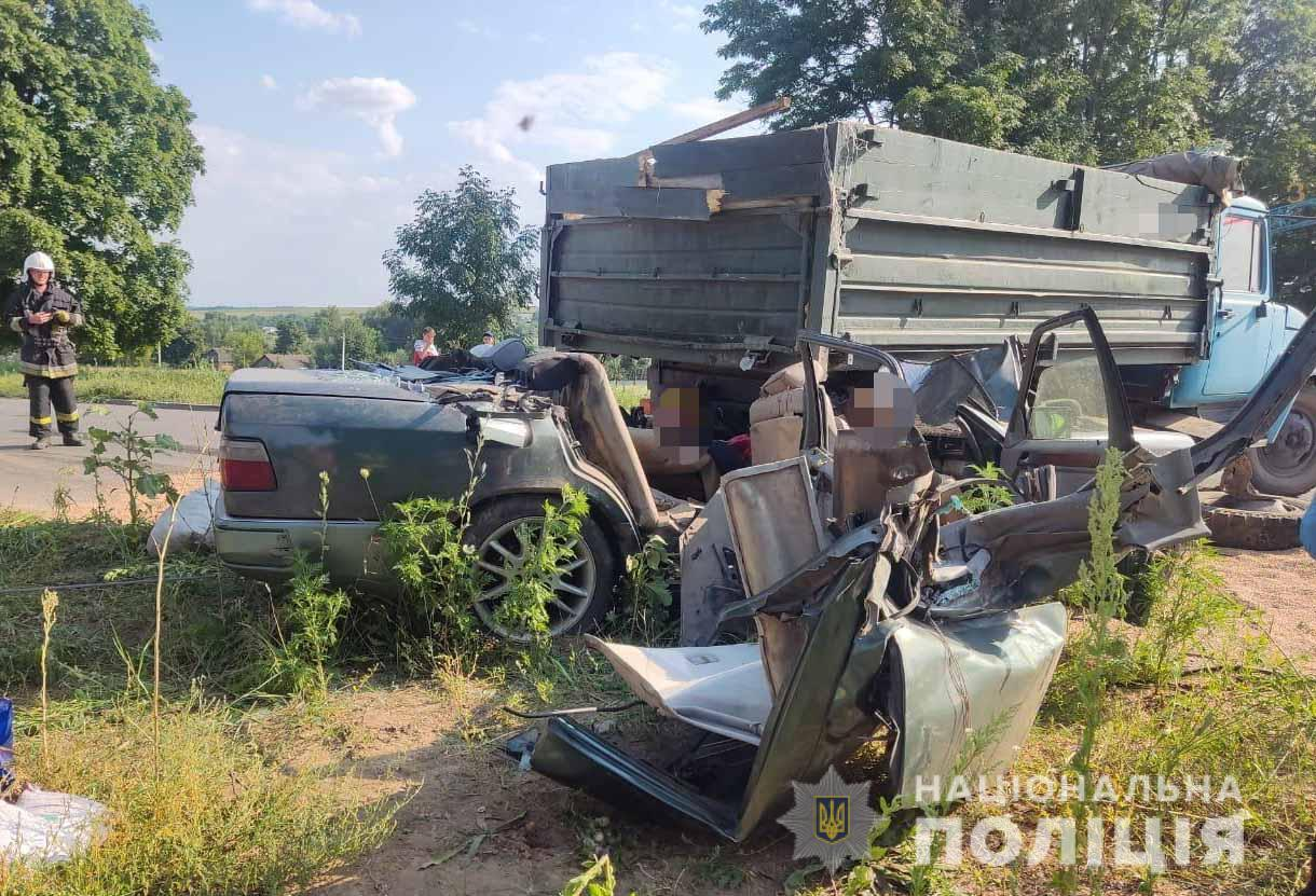 Mercedes столкнулся с САЗ 3517