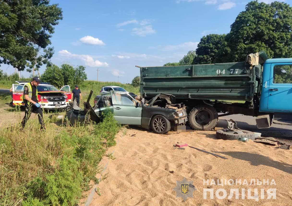 Поврежденные авто поместили на штрафплощадку