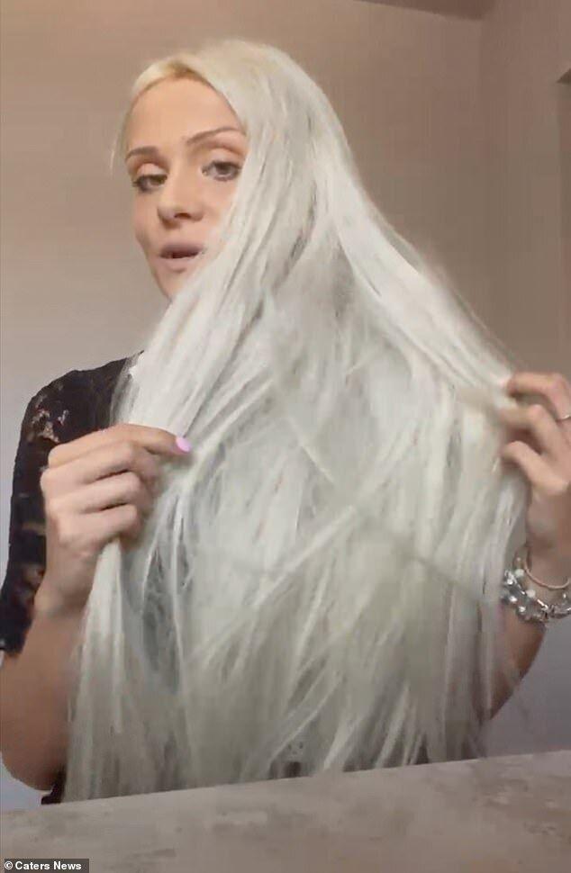 Волосы Лейси испортились после процедуры