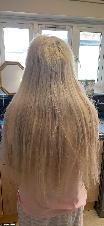 Как выглядят сейчас волосы Лейси