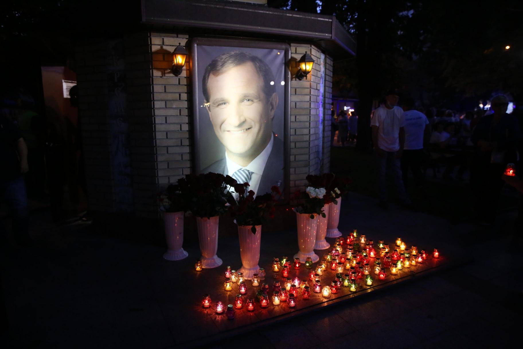 26 июля 2014 в Кременчуге убили мэра Олега Бабаева