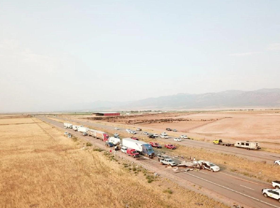 На трасі в Юті зіткнулися 22 автомобілі.