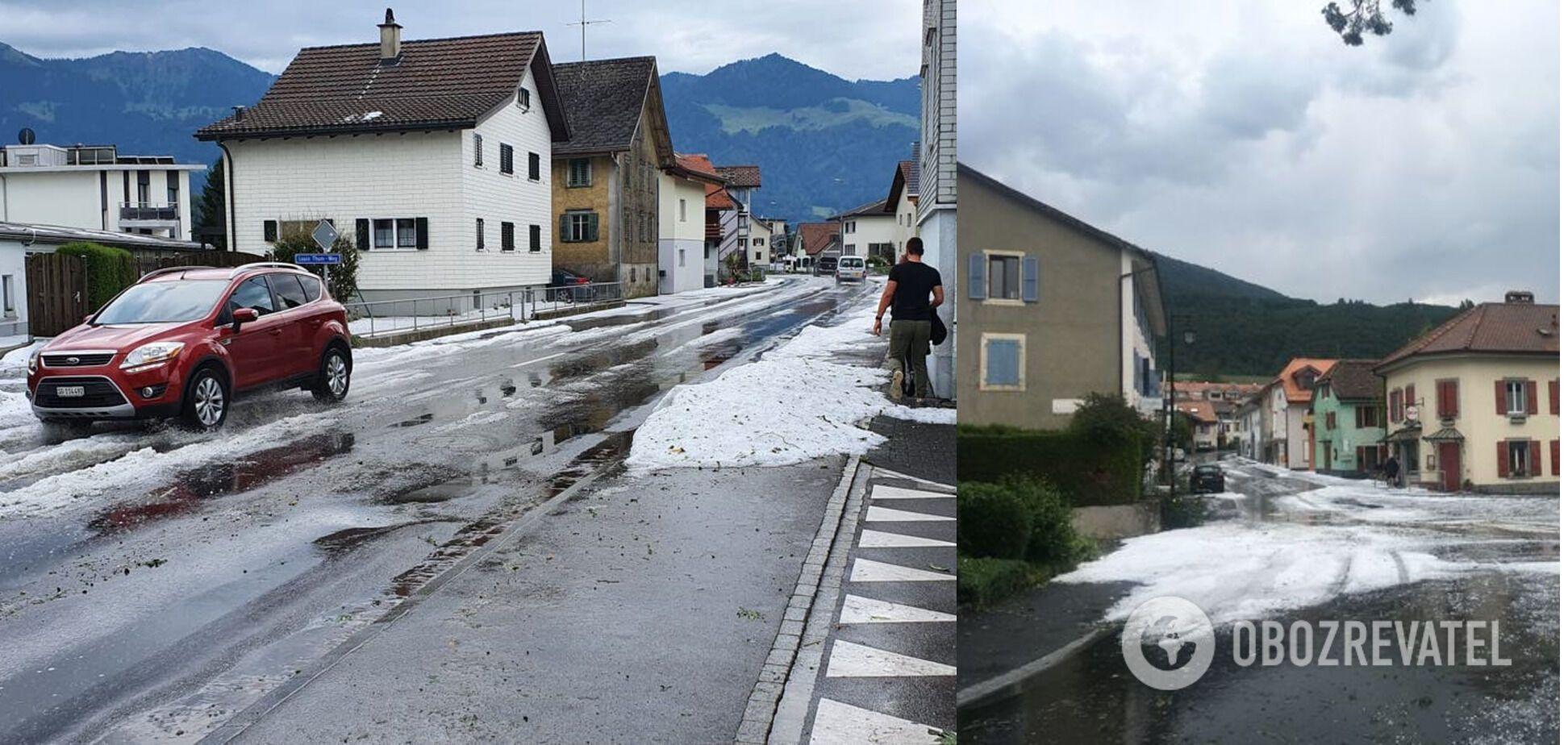 Негода в Швейцарії
