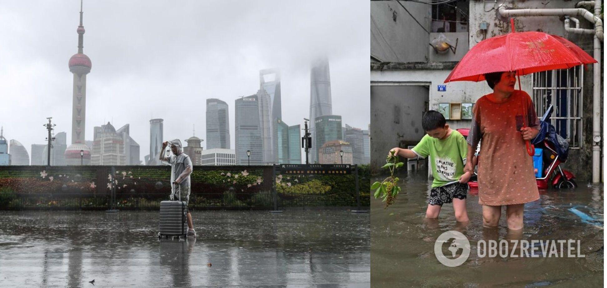 Негода в Китаї
