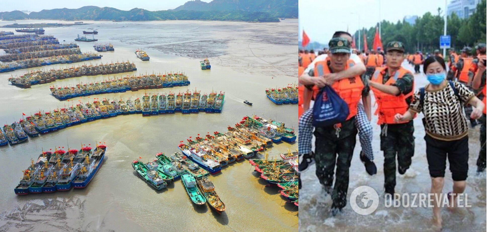 Східне узбережжя Китаю накрив тайфун Ін-Фа