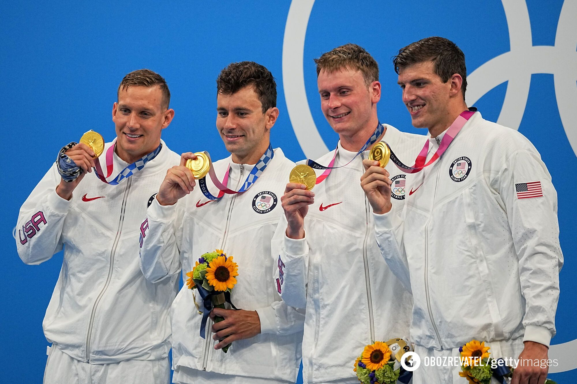 Американські плавці виграли естафету