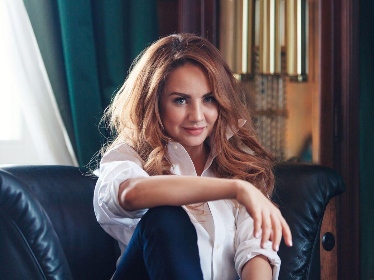 Российская певица МакSим.