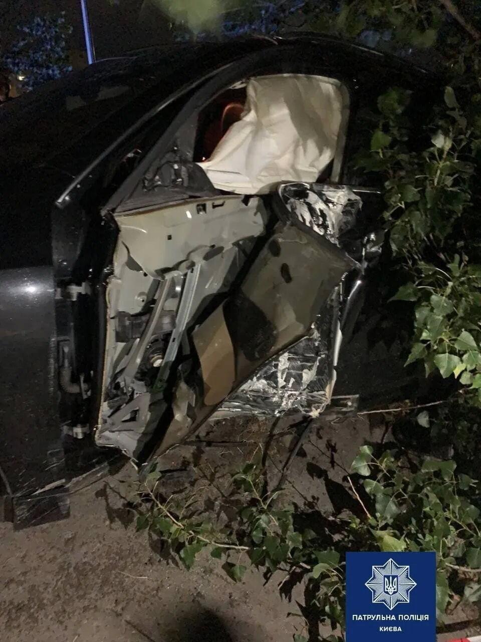 Унаслідок аварії ніхто не постраждав.
