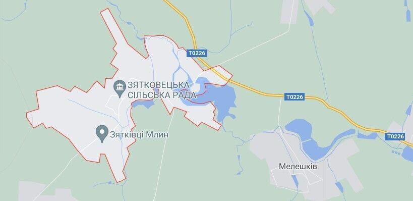 ДТП произошло возле села Зятковцы