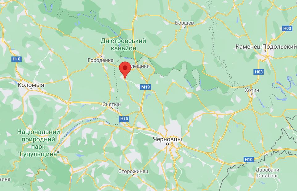 Село Киселів у Чернівецькій області.