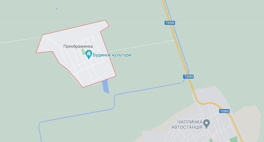Наркоплантація розташована біля села Преображенка