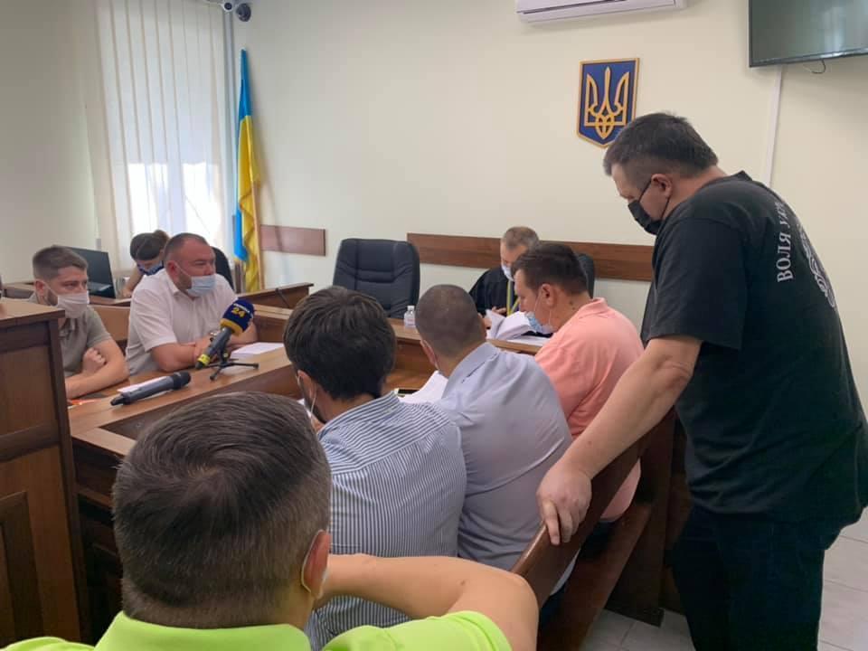 На засіданні суду щодо зміни запобіжного заходу Семенченку.